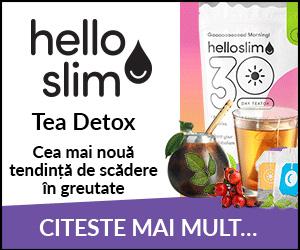 Hello Slim - detoxifierea ceaiului