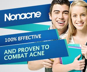 Nonacne - acnee